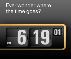 Ever wonder where the time goes?