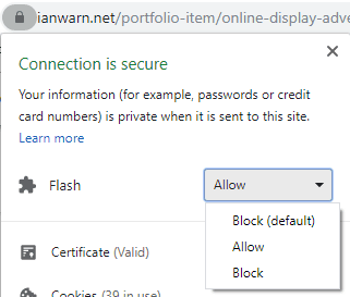 How to enable Flash in modern browsers (e.g. Google Chrome)