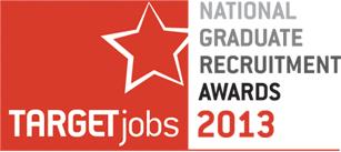 Targetjobs National Graduate Recruitment Awards 2013
