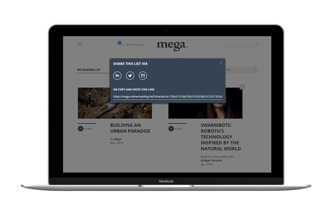 Mega — The Forces That Shape Our Future