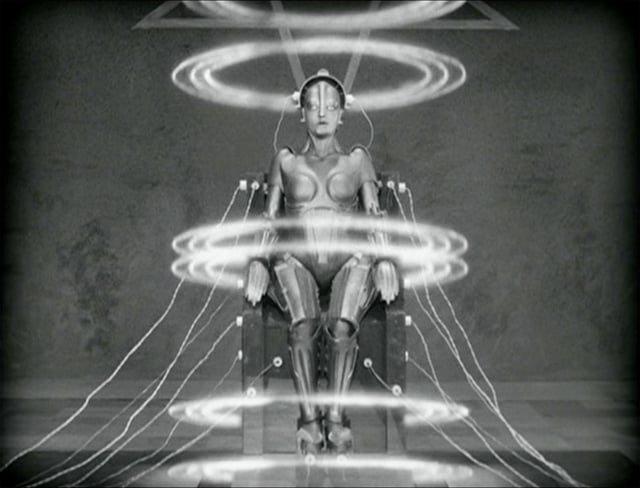 "The ""Maschinenmensch"" or machine-human (from Fritz Lang's Metropolis)"