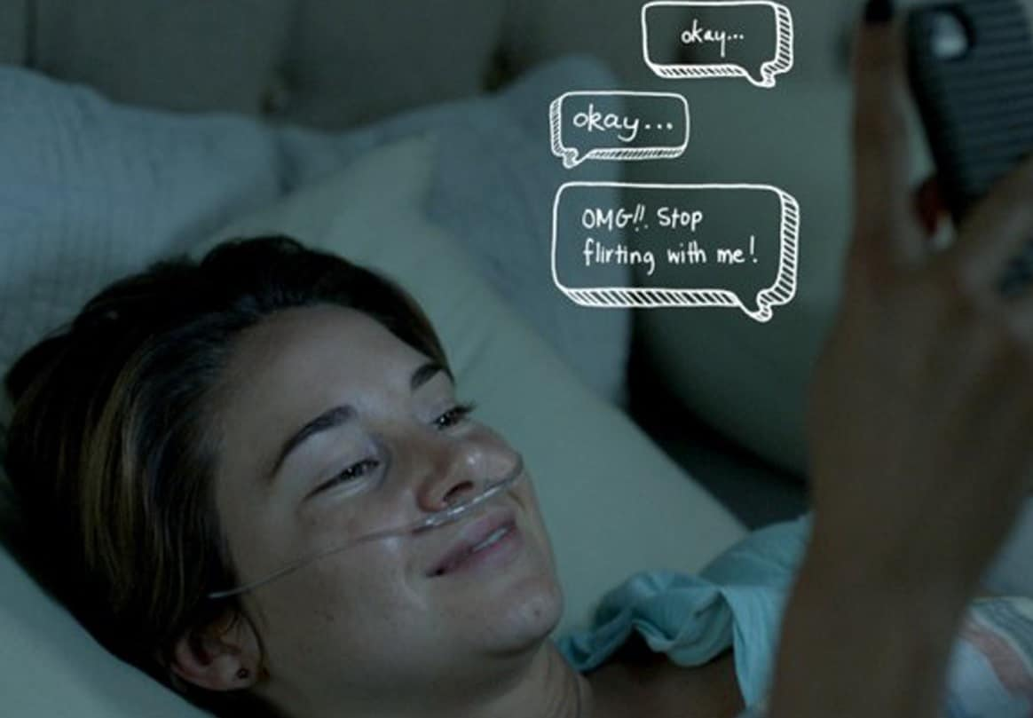 resume The Fault In Our Stars Resume the rise of diegetic intertitle there