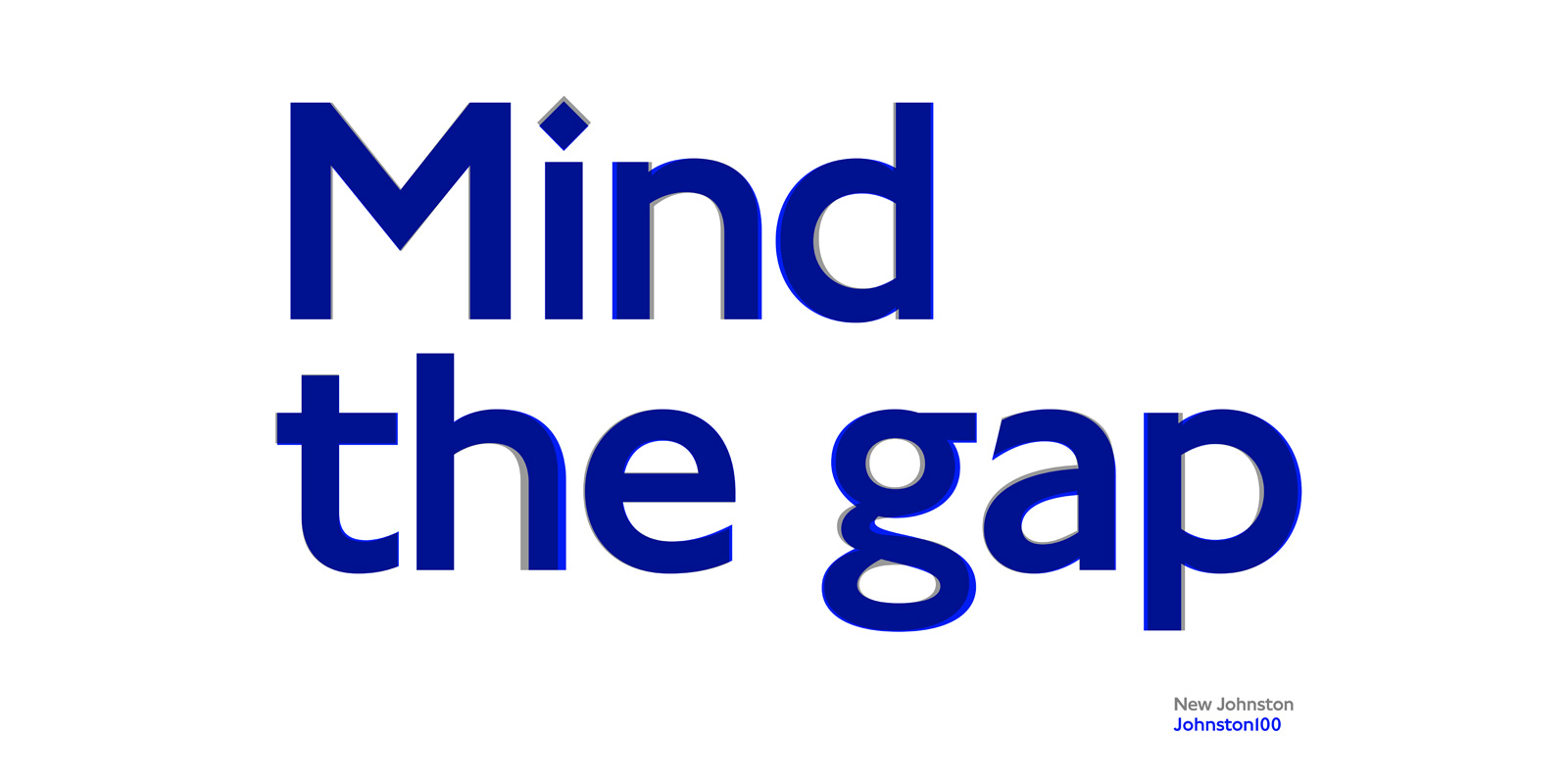 Mind The Gap - Johnston100